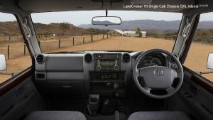 LandCruiser 70 interior
